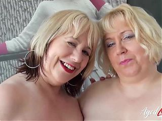Horny Mature Trisha and Lexie Cummings