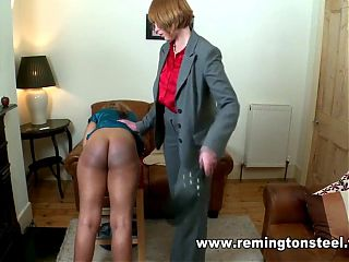 Dani Spanked By Mom